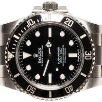 Rolex Submariner (No Date) подержанные 40,00mm Черный Сталь