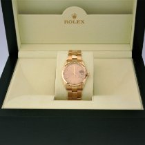 Rolex Oyster Perpetual Date Yellow gold 34mm Gold No numerals United Kingdom, Swansea