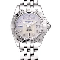 Breitling Cockpit Lady Steel 32mm Mother of pearl Roman numerals
