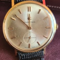 Election Rose gold 36mm Manual winding 18k solid pre-owned