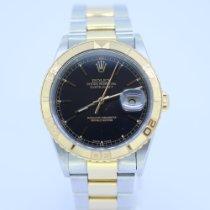 Rolex Datejust Turn-O-Graph Gold/Steel 36mm Black United Kingdom, Newcastle Upon Tyne