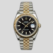 Rolex 126333 Gold/Steel 2019 Datejust 41mm pre-owned