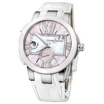 Ulysse Nardin Executive Dual Time Lady 40mm Mother of pearl United States of America, New York