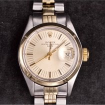 Rolex Oyster Perpetual Lady Date Or/Acier 25mm Sans chiffres France, CHAVENAY