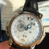 Ulysse Nardin GMT +/- Perpetual Witgoud 42mm Wit