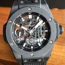 Hublot Big Bang Meca-10 Cerámica 45mm Transparente Sin cifras