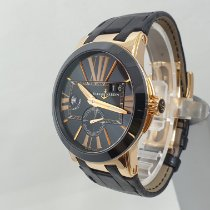 Ulysse Nardin Executive Dual Time Or rose 43mm Noir Romains