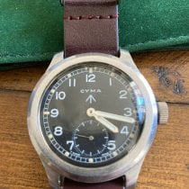 Cyma Steel 38mm Manual winding 546153 pre-owned United States of America, Kentucky, Louisville