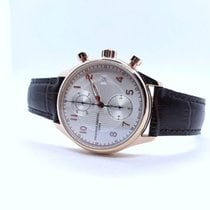 Frederique Constant Runabout Chronograph pre-owned 42mm Silver Leather