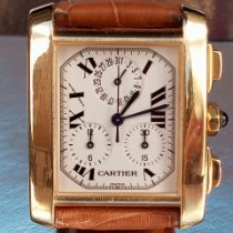 Cartier Tank Française Yellow gold 28mm White Roman numerals