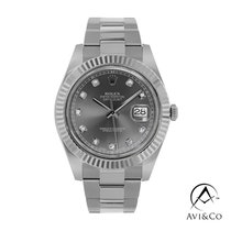 Rolex Datejust II Steel 41mm Grey No numerals United States of America, New York
