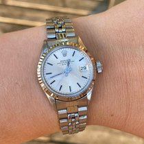 Rolex 6517 Gold/Steel 1965 Oyster Perpetual Lady Date 26mm pre-owned