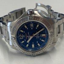 Breitling Chronomat Colt Stahl 41mm Blau Keine Ziffern