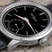 Zenith Sporto Steel 37mm Black No numerals United States of America, California, Mammoth Lakes