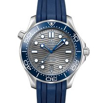 Omega Seamaster Diver 300 M Steel 42mm Grey No numerals United States of America, California, Los Angeles