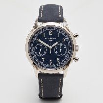 Patek Philippe Chronograph White gold 41mm Blue Arabic numerals