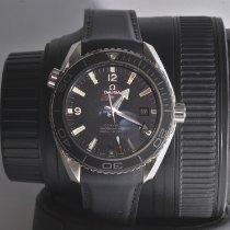 Omega Seamaster Planet Ocean Acier 45.5mm Noir Arabes France, talissieu