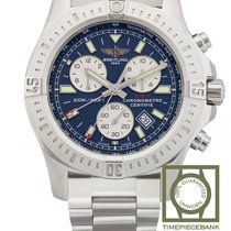 Breitling Colt Chronograph Staal 44mm Blauw