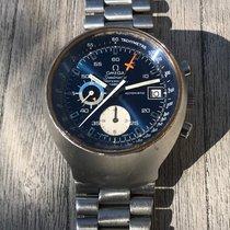 Omega Speedmaster Mark II Acier 41mm Bleu Sans chiffres
