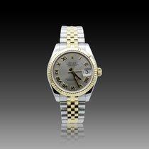 Rolex Lady-Datejust Or/Acier 31mm Argent Romains France, Paris
