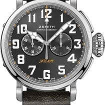 Zenith Steel 45mm Automatic 03.2434.4069/20.I010 Rescue new United States of America, New York, Airmont