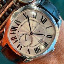 Cartier Drive de Cartier Acier 47mm Blanc Romains