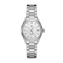 TAG Heuer Carrera Lady nuevo Automático Reloj con estuche y documentos originales WAR2414.BA0776