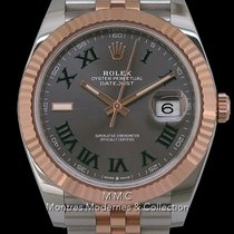 Rolex Datejust II Or/Acier 41mm Gris France