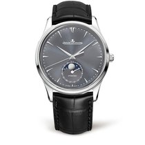 Jaeger-LeCoultre Master Ultra Thin Moon Oro blanco 39mm Gris