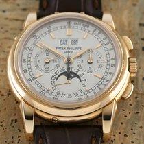 Patek Philippe Perpetual Calendar Chronograph Oro rosa 40mm Plata
