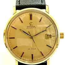 Omega 166.033 Or jaune 1972 De Ville 34mm occasion