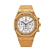 Audemars Piguet 26320OR.OO.1220OR.02 Rose gold 2015 Royal Oak Chronograph 41mm pre-owned United States of America, New York, New York