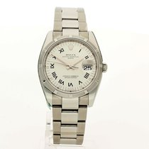 Rolex Steel 34mm Automatic Rolex Oyster Perpetual Date 115210 2007 Recently Serviced pre-owned United Kingdom, Brighton