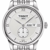 Tissot Le Locle Steel 39mm Silver Roman numerals United States of America, New York, Monsey