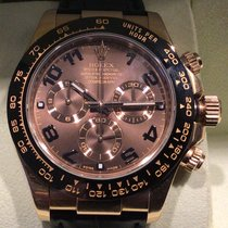 Rolex Daytona Oro rosa 40mm Marrón Arábigos