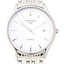 Longines Lyre Steel 39mm White