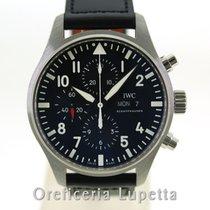 IWC Pilot Chronograph Acciaio 43mm Italia, Milano