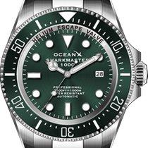 SMS1013 OceanX Sharkmaster 1000 Neu Stahl 44mm Automatik
