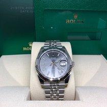 Rolex Datejust Staal 41mm Grijs Geen cijfers Nederland, Purmerend