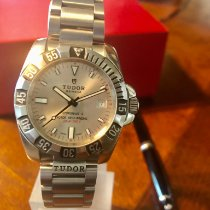 Tudor Hydronaut Steel 40mm Silver (solid) No numerals United States of America, Delaware, Harrington