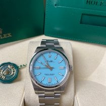 Rolex Oyster Perpetual Steel 41mm Blue No numerals United States of America, New York, New York
