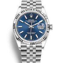 Rolex Datejust White gold 36mm Blue United States of America, New York, New York