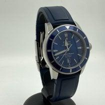 Breitling Superocean Heritage 46 Steel 46mm Blue No numerals