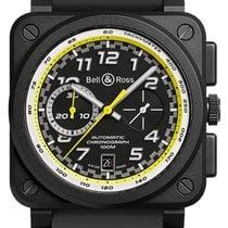 Bell & Ross BR 03-94 Chronographe nuevo 2020 Automático Cronógrafo Reloj con estuche y documentos originales BR0394-RS20/SRB