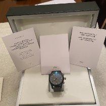 IWC Pilot Chronograph Top Gun Miramar подержанные 46mm Черный Хронограф Дата Ткань