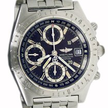 Breitling Chronomat GMT Steel 40mm Black No numerals United States of America, Utah, Draper