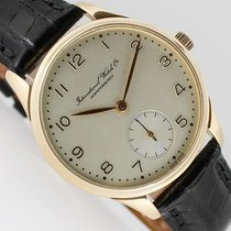 IWC Red gold Automatic Silver Arabic numerals 35mm pre-owned Portuguese Automatic