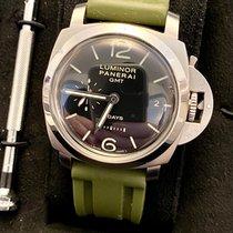 Panerai Luminor 1950 8 Days GMT Steel 44mm Black Arabic numerals United States of America, California, La Canada Flintridge