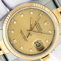 Rolex Datejust Gold/Steel 36mm Champagne No numerals United States of America, California, Los Angeles