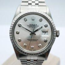 Rolex Datejust Acier 36mm Argent Sans chiffres